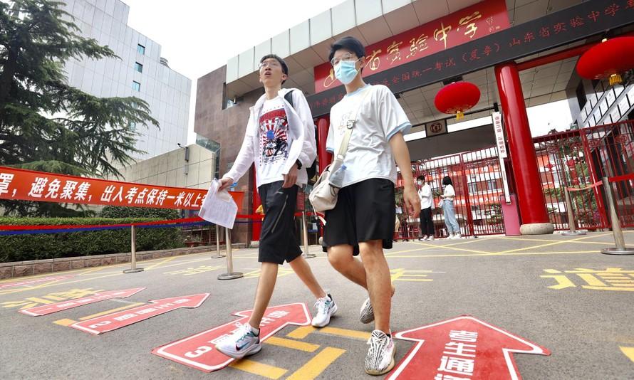 Hơn 10 triệu học sinh Trung Quốc bước vào kỳ thi Cao khảo