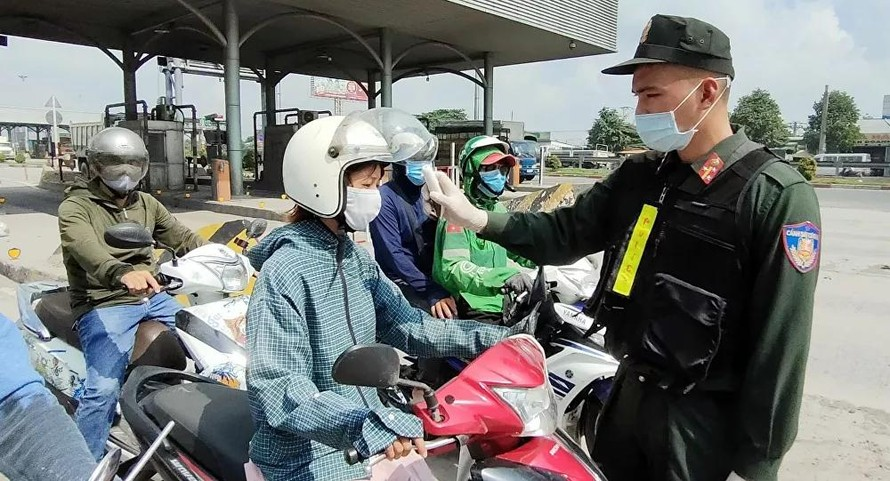TP HCM kiểm soát chặt chẽ việc giãn cách xã hội tại quận Gò Vấp