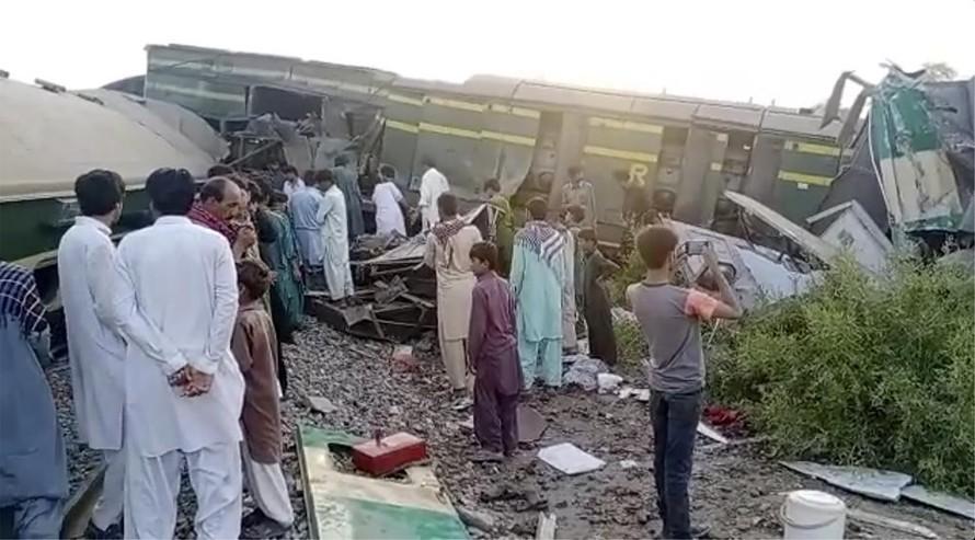 Tai nạn đường sắt Pakistan khiến 35 người chết