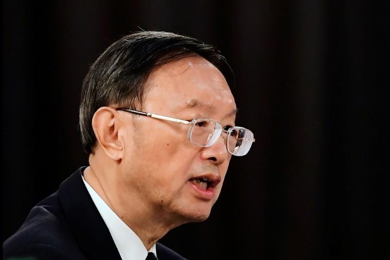 Ông Dương Khiết Trì - Trưởng ban Đối ngoại Trung ương đảng Cộng sản Trung Quốc. Ảnh: Reuters