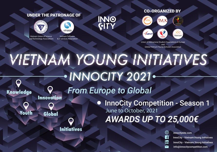 InnoCity 2021: Cuộc thi đổi mới sáng tạo cho người trẻ Việt Nam