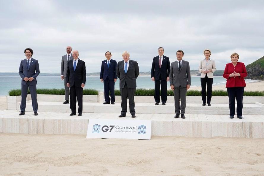 G7 thiết lập sáng kiến đầu tư cạnh tranh với Trung Quốc