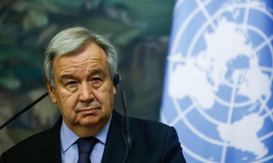 Tổng thư ký LHQ cảnh báo về cuộc khủng hoảng khí hậu