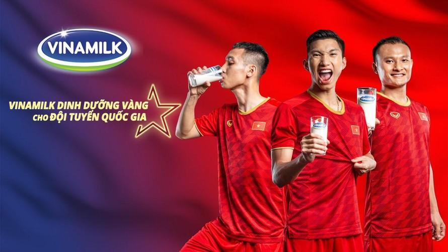 Dinh dưỡng vàng đồng hành cùng chiến thắng của đội tuyển Việt Nam