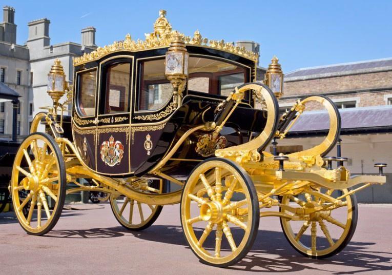 Diamond Jubilee của Nữ hoàng Elizabeth II là cỗ xe ngựa thứ hai của Hoàng gia