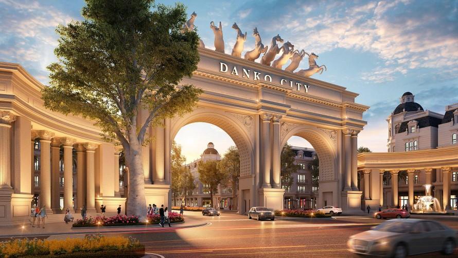 Danko City được xem là biểu tượng sống mới của thành phố Thái Nguyên.