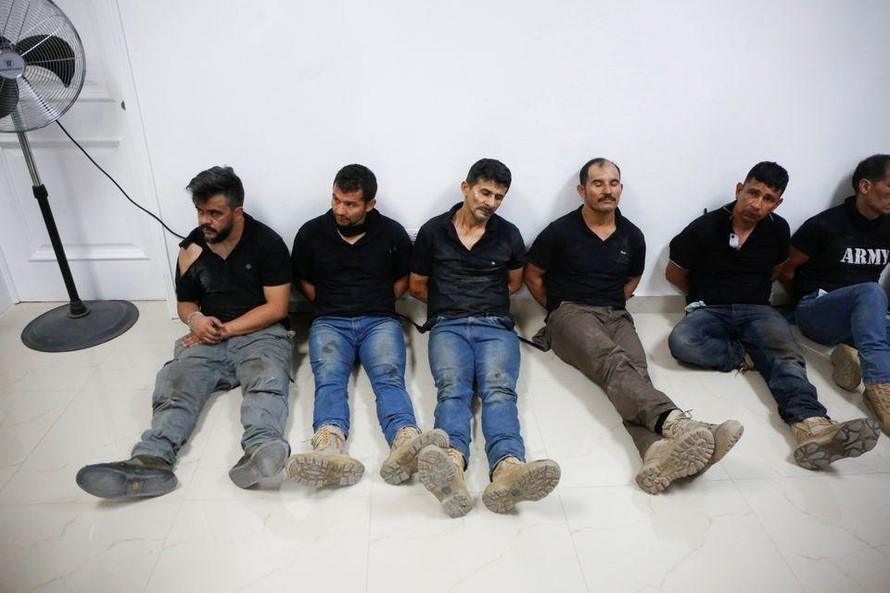 Các nghi phạm trong vụ ám sát Tổng thống Jovenel Moise. Ảnh: Reuters