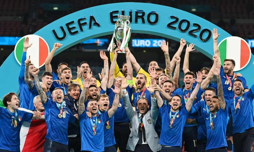 Người Ý đưa chức vô địch Euro 2020 về thành Rome
