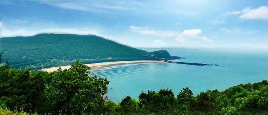 Bờ biển Bãi Lữ.