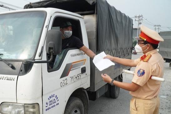 Khởi tố vụ án tài xế xe tải làm lây lan dịch COVID-19
