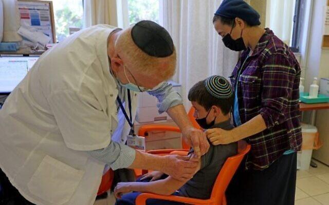 Israel cân nhắc tiêm vaccine cho trẻ từ 5-11 tuổi