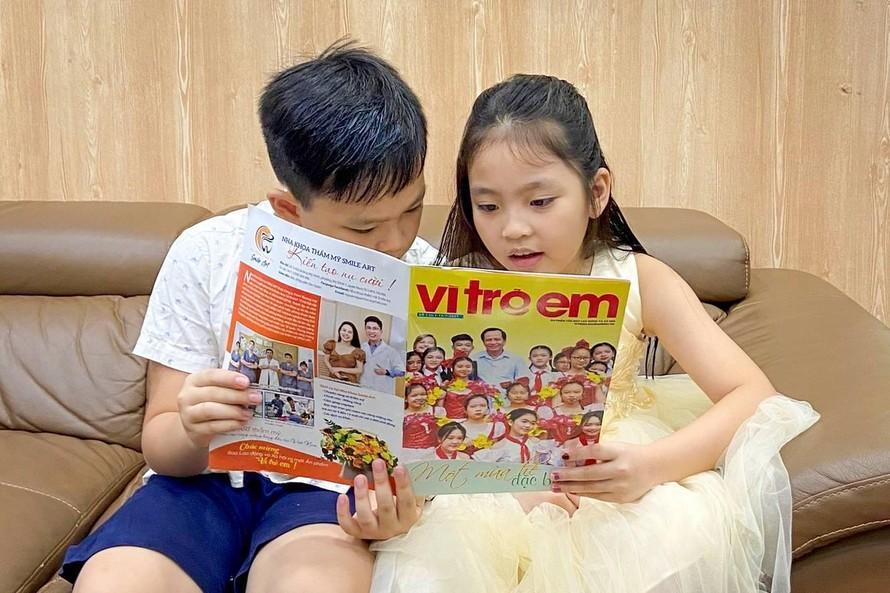 Thêm một ấn phẩm 'vì trẻ em' ra đời