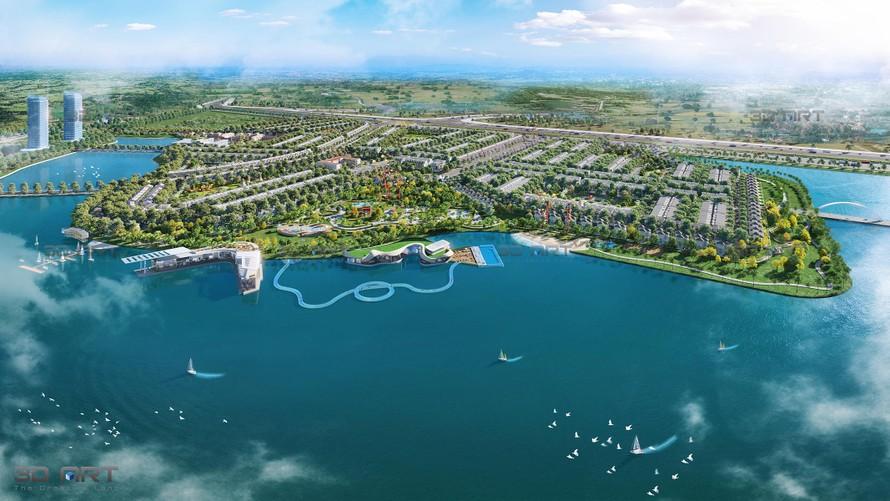Những lợi ích vàng của hồ điều hòa trong khu đô thị.