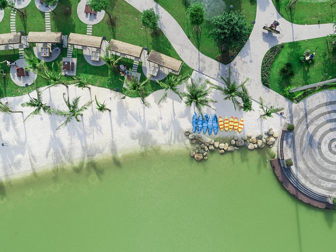 Vinhomes Smart City sở hữu đa dạng phong cách sống, là điểm hẹn lý tưởng của cộng đồng cư dân quốc tế.