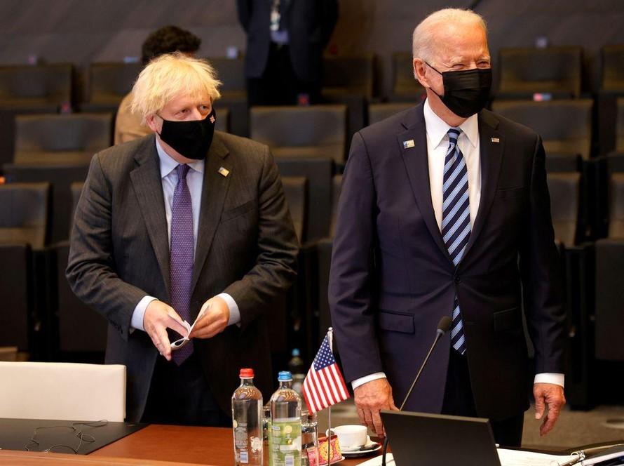 Lãnh đạo Mỹ và Anh thảo luận về tình hình Afghanistan
