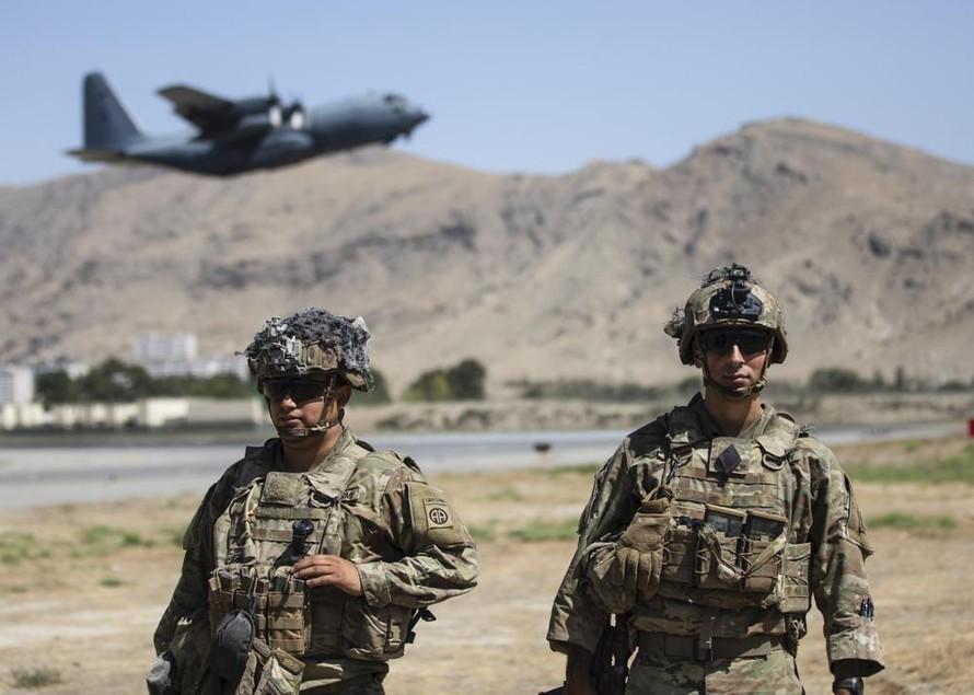 Mỹ không kích trả đũa thành viên IS tại Afghanistan
