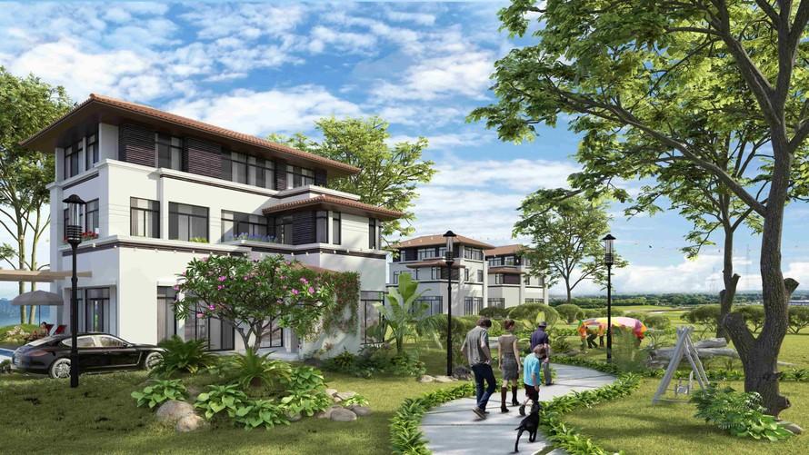 Biệt thự FLC Grand Villa Halong mang đến sự riêng tư và yên tĩnh cho gia chủ