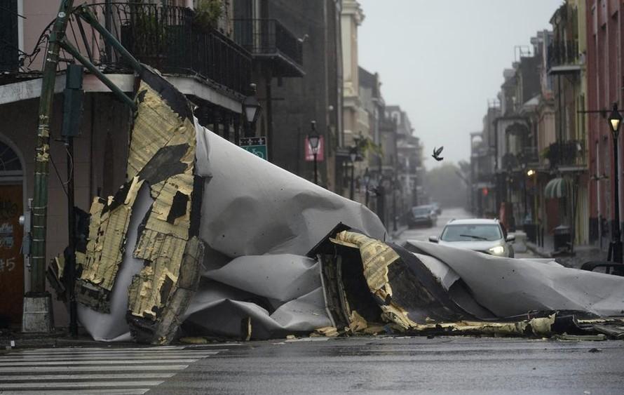 Siêu bão Ida càn quét miền Nam nước Mỹ