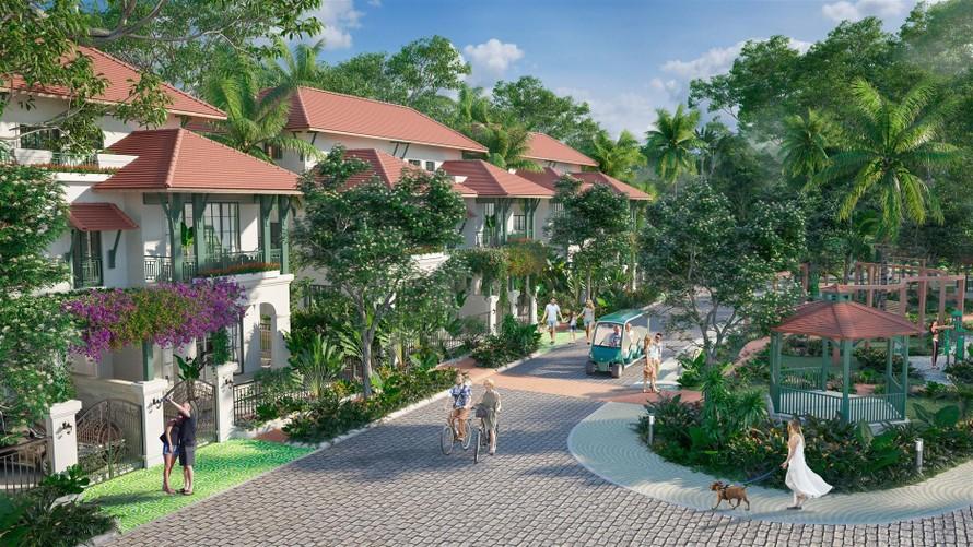 Biệt thự Sun Tropical Village – Dòng wellness second home tiên phong ở Nam Phú Quốc (Ảnh mang tính minh họa)