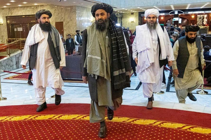 Mullah Abdul Ghani Baradar, phó thủ lĩnh và nhà đàm phán của Taliban, sẽ lãnh đạo chính phủ lâm thời tại Afghanistan. Ảnh: Reuters