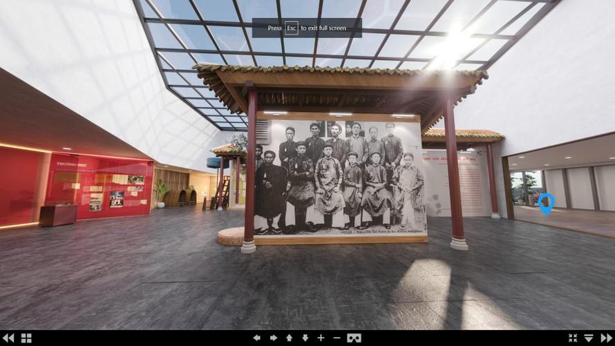 Triển lãm 3D tài liệu lưu trữ 'Giáo dục triều Nguyễn – vang vọng còn lại'