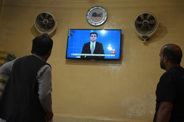 Mạng truyền hình hàng đầu của Afghanistan vẫn phát sóng dưới thời Taliban