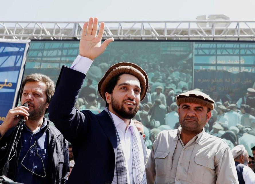 Ahmad Massoud - thủ lĩnh tàn quân miền Bắc Afghanistan. Ảnh: Reuters