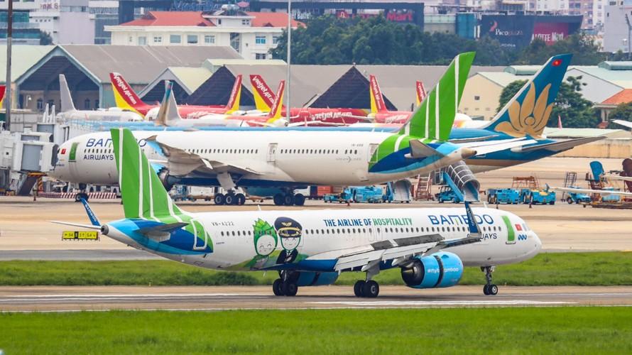 Bamboo Airways tích cực đẩy mạnh các hoạt động phát triển và mở rộng quy mô khai thác.