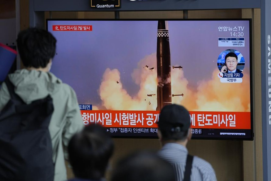 Hàn-Nhật Bản họp khẩn sau khi Triều Tiên phóng tên lửa
