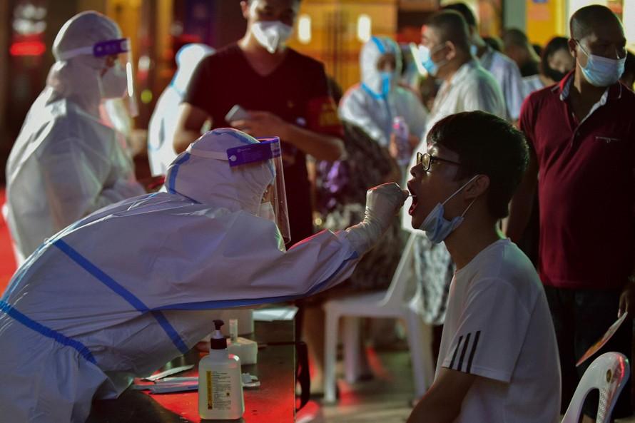 Ổ dịch tại Trung Quốc ghi nhận số ca mắc COVID-19 kỷ lục