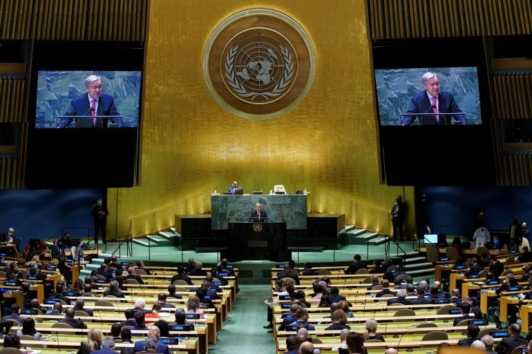 Chủ tịch nước tham dự khai mạc Khóa họp thứ 76 Đại hội đồng LHQ