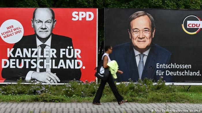 Thế 'tam mã' trong cuộc đua bầu cử tại Đức