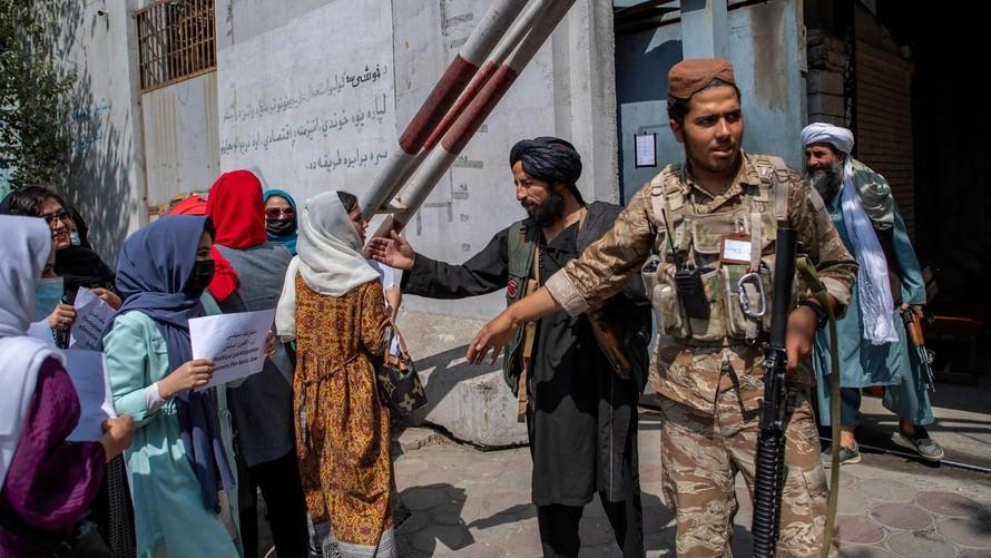 Dấu chấm hết cho vai trò của phụ nữ trong chính quyền Taliban