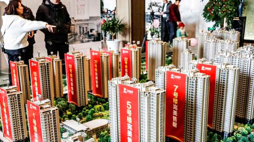 Rủi ro bong bóng bất động sản tại Trung Quốc