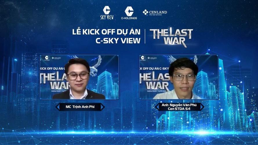 Lễ kick off online dự án C-Sky View với sự tham dự của hơn 500 Nhân viên Kinh doanh.