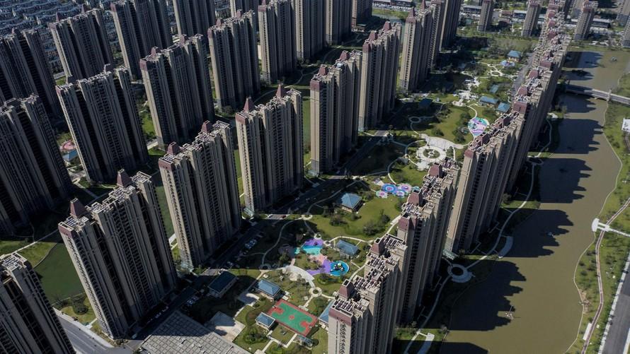 Thị trường bất động sản Trung Quốc ảm đạm vì Evergrande