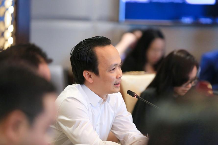 Ông Trịnh Văn Quyết, Chủ tịch FLC.