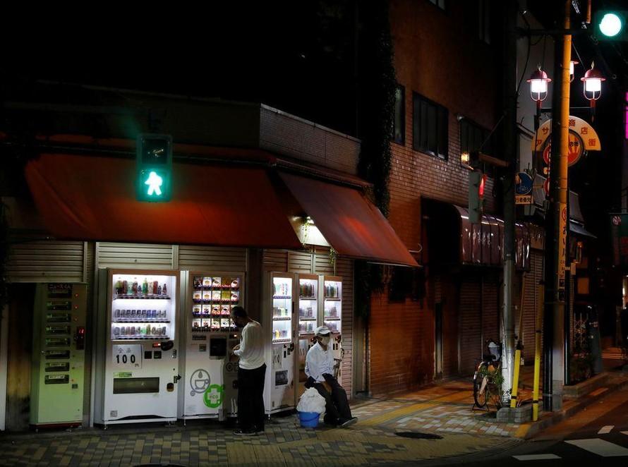 Một khu phố của dân lao động tại Tokyo. Ảnh: Reuters