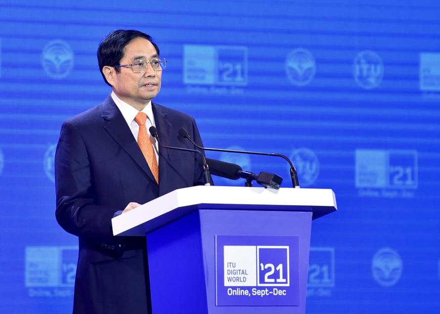 Thủ tướng chia sẻ 5 ưu tiên hợp tác trong thế giới số