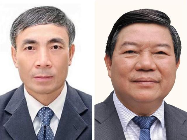 Ông Nguyễn Quốc Anh (phải) và ông Nguyễn Ngọc Hiền - Ảnh: Bachmai.gov.vn