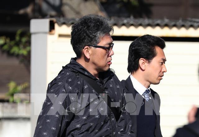 Bị cáo Yasumasa Shibuya (trái) bị tuyên án tù chung thân. Ảnh: AFP/TTXVN