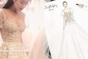 Hé lộ chiếc váy cưới Nhã Phương sẽ mặc trong hôn lễ