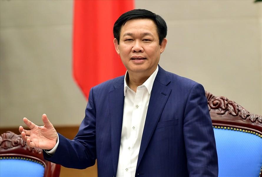 Phó Thủ tướng Vương Đình Huệ, Ảnh: Báo Lao động