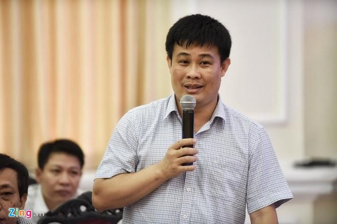 Có trường hợp bài thi chênh lệch đến 8,75 điểm sau khi chấm phúc khảo ở Tây Ninh. Ông Sái Công Hồng cho biết Bộ GD&ĐT đang làm rõ trách nhiệm thuộc về ai. Ảnh: Việt Linh.