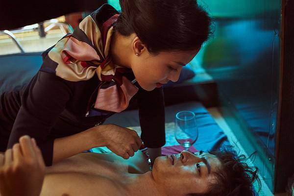 Lãnh Thanh và Ngọc Anh đóng vai chính trong phim Chàng dâng cá, Nàng ăn hoa.