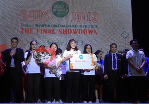 ĐH Tài nguyên và Môi trường giành giải đặc biệt cuộc thi tiếng Anh toàn quốc.