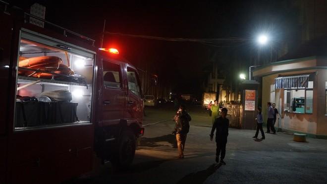 Khu vực xảy ra vụ hỏa hoạn. Ảnh: Nguyễn Dương.