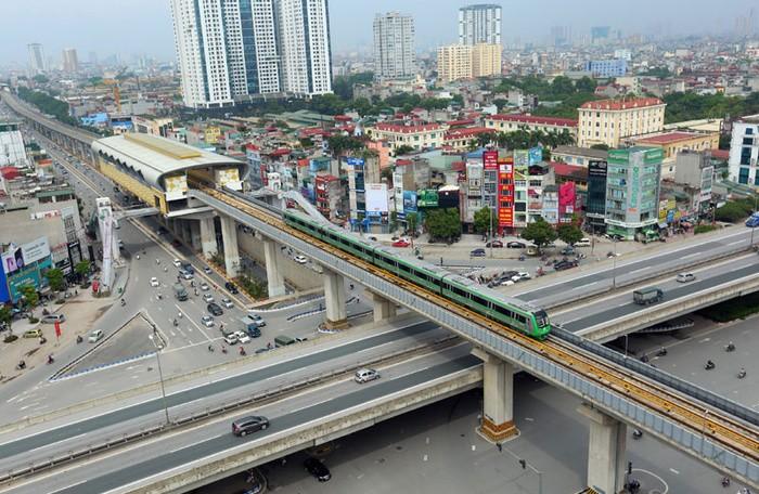 Đường sắt đô thị Hà Nội, tuyến Cát Linh - Hà Đông dự kiến hoàn thành trong năm 2020