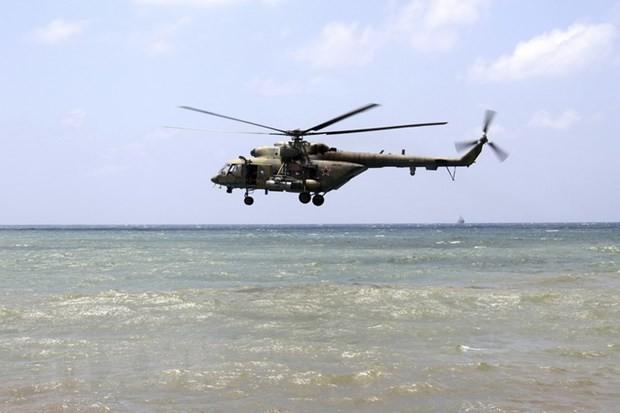 Trực thăng Mi-17. (Ảnh: AFP/TTXVN)