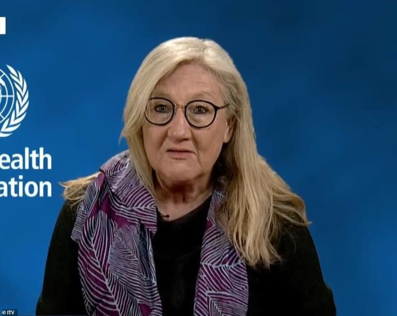 Người phát ngôn của Tổ chức Y tế Thế giới Margaret Harris. (Ảnh: ITV)